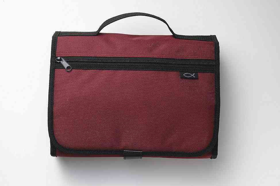 Cranberry Tri-Fold Organizer Extra Large By Zondervan Publishers (COR)